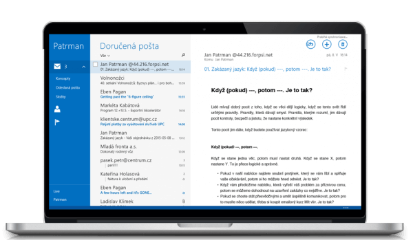 Emailový kurz Zakázaný jazyk - studujte efektivně